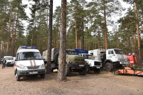 Специалисты отмечают стабильность обстановки по тушению пожара в лесах Марий Эл