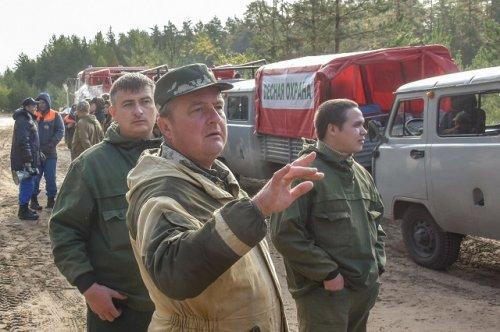 Специалисты ликвидируют тлеющие очаги пожара в лесах на территории Марий Эл
