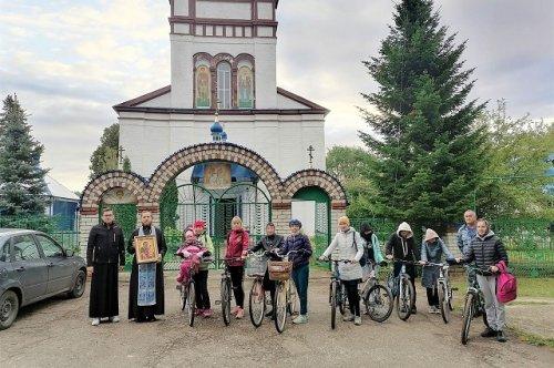 Прихожане из Волжского района организовали первую в Марий Эл велосипедную паломническую поездку