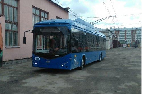 Сегодня на городских маршрутах Йошкар-Олы можно будет увидеть новые троллейбусы