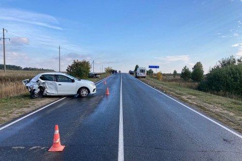 В ДТП в Звениговском районе столкнулись три машины и пострадали два человека
