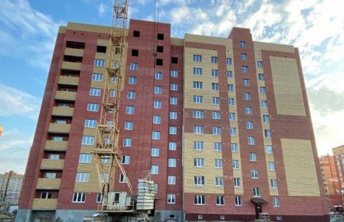 В Йошкар-Оле завершается строительство дома для переселенцев из аварийного жилья