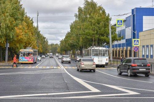 Дорогу по улице Машиностроителей в Йошкар-Оле подрядчик сдал в эксплуатацию раньше срока