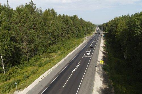 Дорожники обновили в Марий Эл 13 километров федеральной автотрассы Йошкар-Ола – Зеленодольск