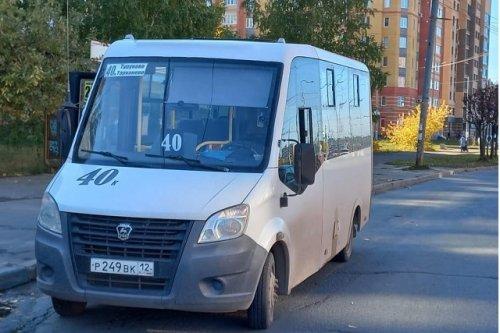 За день в Йошкар-Оле произошло два ДТП с участием общественного транспорта