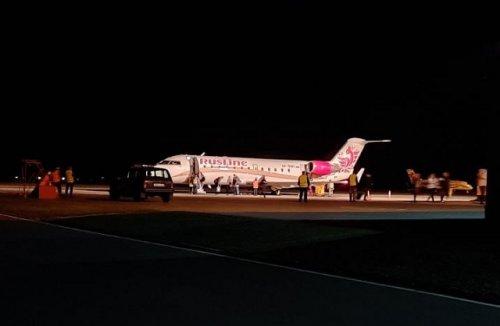 Самолёт, который в пятницу вечером прибыл в Йошкар-Олу из Москвы, не смог вылететь обратно