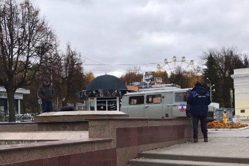 Специалисты предприятия «Водоканал» начали готовить фонтаны Йошкар-Олы к «зимовке»