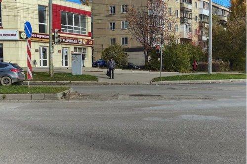 Сегодня планируют ограничить движение транспорта на улице Герцена в связи с ремонтом дороги