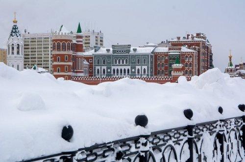 Синоптики прогнозируют на большей части России аномально снежную зиму
