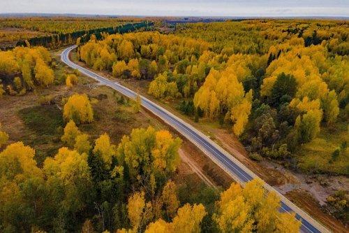 В этом году дорожники отремонтировали 44 километра Сернурского тракта