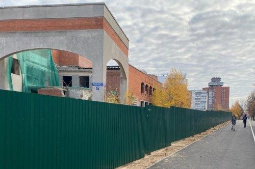 Вместо недостроя в Йошкар-Оле появится новый торговый центр многофункционального назначения