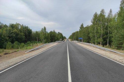 В этом году заасфальтировали 40 километров трассы Звенигово – Шелангер – Морки