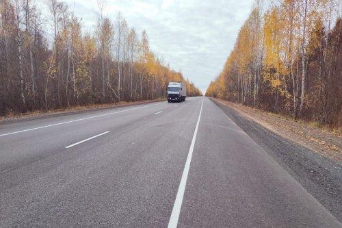 На территории Республики Марий Эл отремонтировали 20 километров Козьмодемьянского тракта