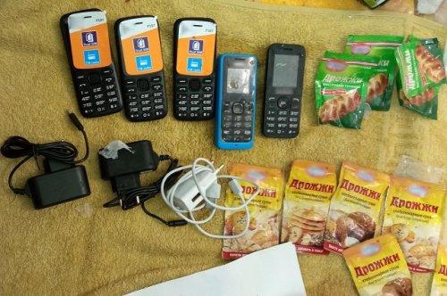 В исправительной колонии № 6 изъяли партию сотовых телефонов при доставке в режимное учреждение